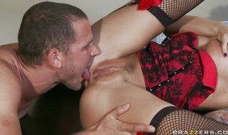 Prurient mature chick Brooke Brand with firm tits gets pounded by a stranger