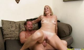 Enchanting mature maid Katrina Kelley is always ready for some hot fucking
