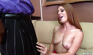 Tempting milf Scarlett Wild enjoys riding a wang and reaches a top
