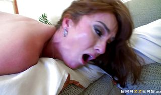 Engaging Bianca Breeze is eager to ride a hard cock