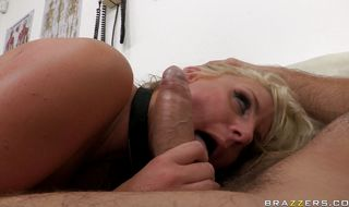 Blonde milf Phoenix Marie is ready for sex