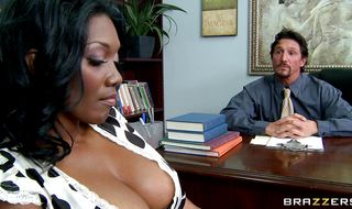 Engaging Nyomi Banxx playfully rides a firm beef bayonet