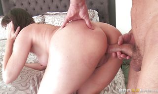 Nude mature diva Dana DeArmond is extremely horny what's why it makes her suck dong way more heavy than usual