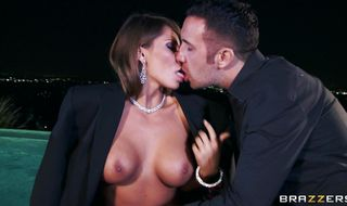 Lovable Madison Ivy covers his long inches in ambitious taco juices