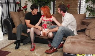 Nasty mature Sasha Brand poses on cam and gets her wet honey pot spoiled