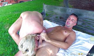 Admirable busty mature Alena Croft wears whore clothes and gets some hard chopper