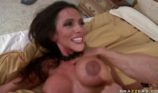 Adorable mature bimbo Ariella Ferrera can't say no to a good fuck