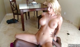 Magnificent Blake Rose goes on a cock ride