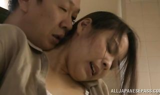 Lovable mature Mina Kanamori is getting fucked after a long time and enjoying it a lot