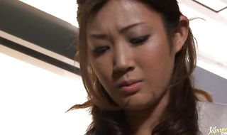 Spicy maiden Anna Moriyama got banged while she was playing with her tits