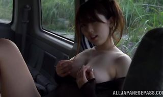 Seductive minx Yui Hatano gets her copher plowed without mercy