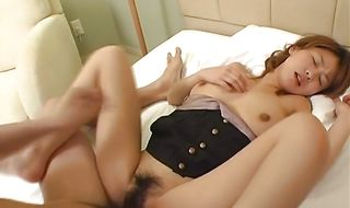 Dazzling busty mature Koharu gets drilled like there's no tomorrow