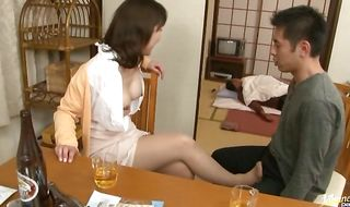 Sensational mature Yoko Imaeda has her bubble butt eagerly licked