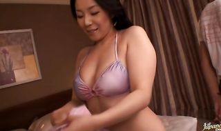 Bf gets to fuck stupendous mature chick Ayane Asakura with much intensity