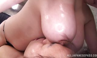 Between mature beauty Yuuki Sakurai and pussy tester sex is always electrifying