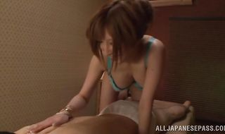 Savory mature Reira Akane is ready for a long sex session