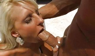 Remarkable blonde Emilianna enjoys deep penetration