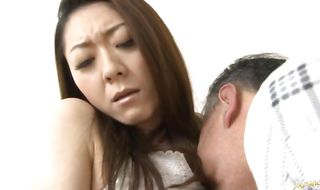 Gorgeous Ruri Hayami loves to play with big schlong and to suck