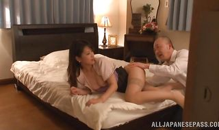 Marvelous Erika Masuwaka is always in the mood for hot sex