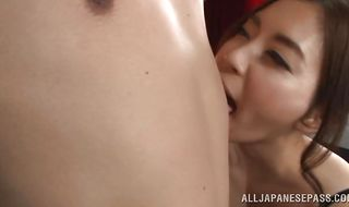 Sultry mature perfection Misuzu Imai enjoys a satisfying foreplay before getting intensely banged