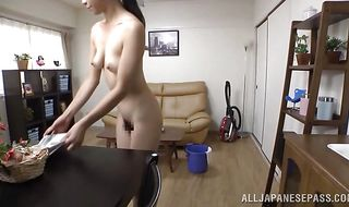 Playsome Maki Hokujo begs for fuck