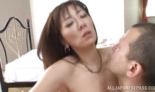 Voracious Noriko Igarashi is ready for some incredible banging