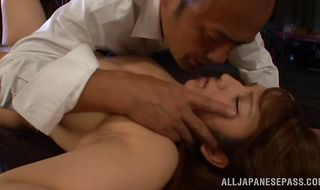 Beguiling beauty sucks and fucks with great passion